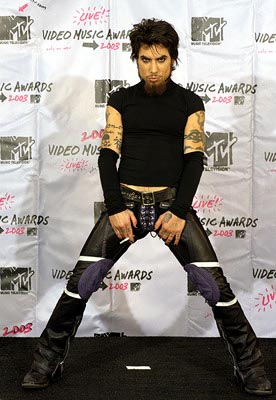 Dave Navarro MTV Video Music Awards - 8/28/2003