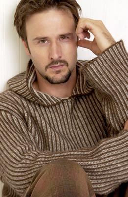 David Arquette A Foreign Affair Yahoo! Movies Portrait Studio Sundance Film Festival 1/23/2003