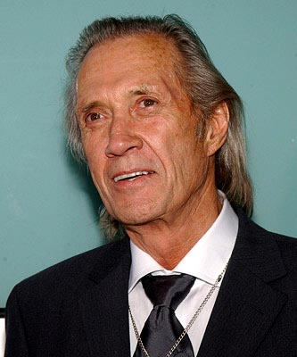 Premiere: David Carradine at the LA premiere of Miramax's Kill Bill Vol. 2 - 4/8/2004