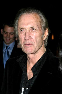 Premiere: David Carradine at the New York premiere of Miramax's Kill Bill: Volume 1 - 10/7/2003