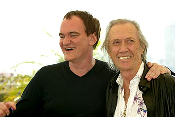 Quentin Tarantino and David Carradine Kill Bill Vol. 2 Cannes Film Festival - 5/16/2004