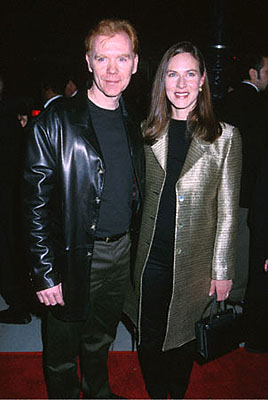 Premiere: David Caruso and his gal at the Beverly Hills premiere of Castle Rock's Proof Of Life - 12/4/2000