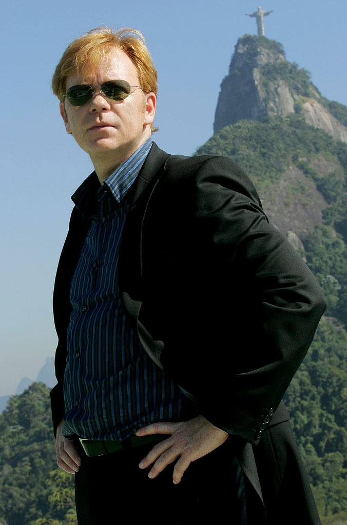 David Caruso stars on the CBS Television Network's CSI: Miami