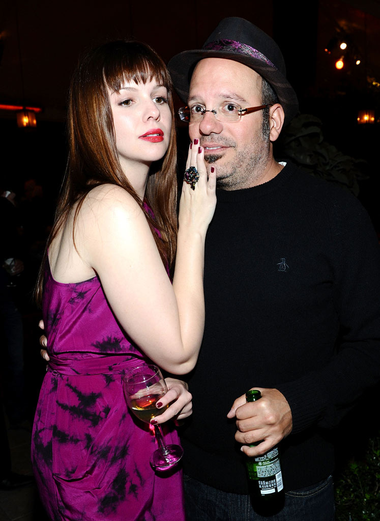 Amber Tamblyn and David Cross attend Entertainment Weeklyís celebration honoring the 17th Annual Screen Actors Guild Awards nominees hosted by Jess Cagle and presented by LíOreal Paris at Chateau Marmont on January 29, 2011 in Los Angeles, California.