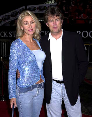 Premiere: Linda Thompson (II) and David Foster at the Westwood premiere of Warner Brothers' Rock Star - 9/4/2001