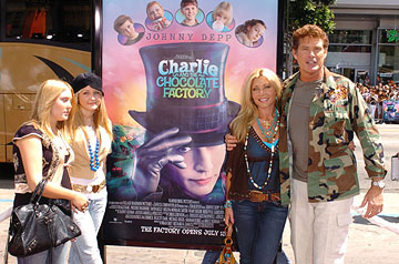 Premiere: David Hasselhoff at the LA premiere of Warner Bros. Pictures' Charlie and the Chocolate Factory - 7/10/2005