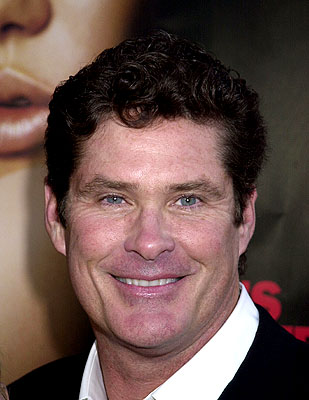 Premiere: David Hasselhoff at the L.A. premiere of MGM's Original Sin - 7/31/2001