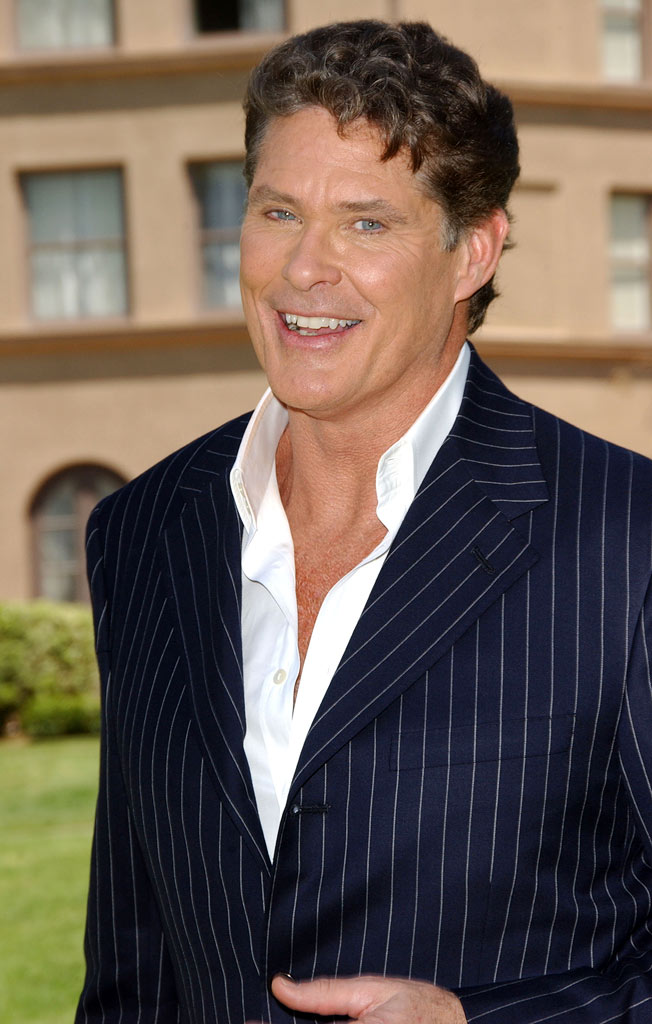 David Hasselhoff at the NBC's Summer Press Day 2007 at The Ritz Carlton Hotel in Pasadena, California on April 27, 2007.