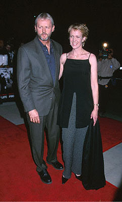 Premiere: David Morse and his wife at the Beverly Hills premiere of Castle Rock's Proof Of Life - 12/4/2000