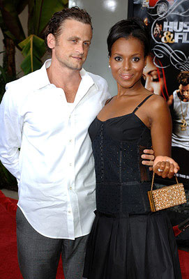 Premiere: David Moscow and Kerry Washington at the Hollywood premiere of Paramount Classics' Hustle & Flow - 7/20/2005