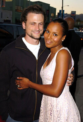 David Moscow and Kerry Washington at the Hollywood premiere of Showtime's Reefer Madness - 4/5/2005