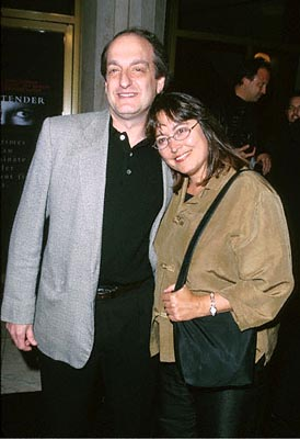 Premiere: David Paymer and wife at the Mann National Theater premiere of Dreamworks' The Contender - 10/5/2000