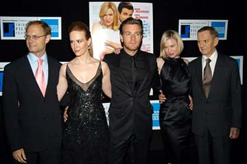 David Hyde Pierce, Sarah Paulson, Ewan McGregor, Renee Zellweger, Tony Randall Down With Love Premiere Tribeca Film Festival, 5/6/2003