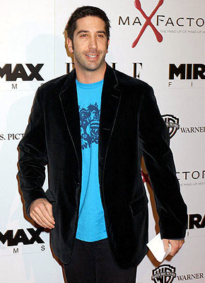 Premiere: David Schwimmer at the Hollywood premiere of Miramax Films' The Aviator - 12/1/2004