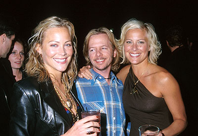 Premiere: Cynthia Daniel, David Spade and Brittany Daniel at the Hollywood premiere of Columbia's Joe Dirt - 4/1/2001