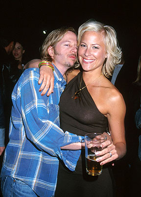 Premiere: David Spade and Brittany Daniel at the Hollywood premiere of Columbia's Joe Dirt - 4/1/2001