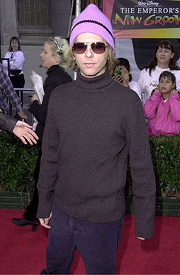 Premiere: Beck... er, David Spade at the Hollywood premiere of Walt Disney's The Emperor's New Groove - 12/10/2000