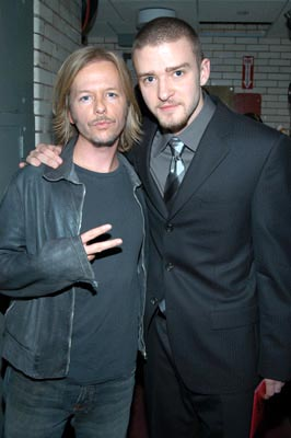 David Spade and Justin Timberlake MTV Video Music Awards - 8/28/2003