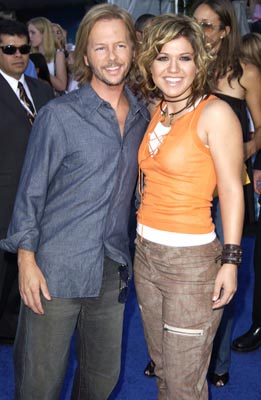 David Spade, Kelly Clarkson Teen Choice Awards - 7/2/2003