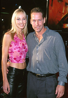 Premiere: D.B. Sweeney with his date at the Westwood, CA National Theatre premiere of Touchstone's Gone In 60 Seconds - 6/5/2000