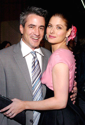 Premiere: Dermot Mulroney and Debra Messing at the Los Angeles premiere of Universal Pictures' The Wedding Date - 1/27/2005