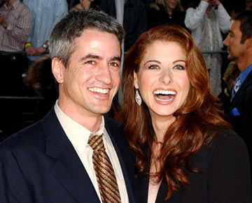 Dermot Mulroney and Debra Messing 31st Annual People's Choice Awards Pasadena, CA - 1/9/05