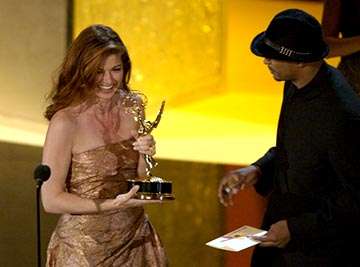 Debra Messing, Damon Wayans 55th Annual Emmy Awards - 9/21/2003