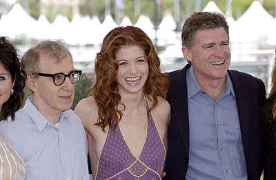 Woody Allen, Debra Messing and Treat Williams Hollywood Ending Cannes Film Festival - 5/15/2002