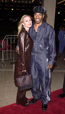 Premiere: Dedee Pfeiffer with gentleman at the Century City premiere of Screen Gems' The Brothers - 3/21/2001