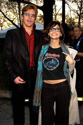 Denis Leary and Gina Gershon 100% NYC Concert Tribeca Film Festival, 5/9/2003