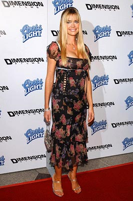 Premiere: Denise Richards at the LA premiere of Dimension's Scary Movie 3 - 10/20/2003