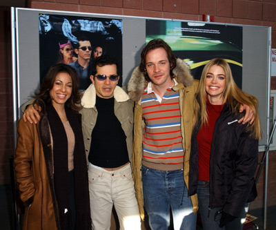 Delilah Cotto, John Leguizamo, Peter Sarsgaard and Denise Richards Empire premiere Sundance Film Festival 1/16/2002