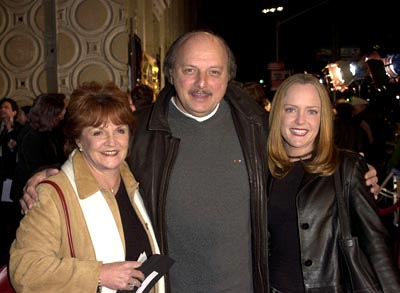 Premiere: Dennis Franz with wife Joannie and daughter Krista at the Hollywood premiere of The Count of Monte Cristo - 1/23/2002
