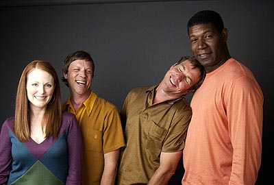 Julianne Moore, Todd Haynes, Dennis Quaid and Dennis Haysbert Far From Heaven Toronto Film Festival - 9/8/2002