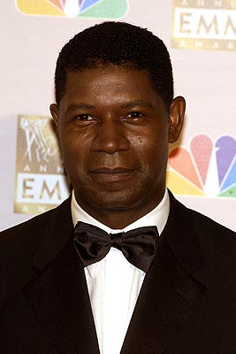 Dennis Haysbert Emmy Awards - 9/22/2002