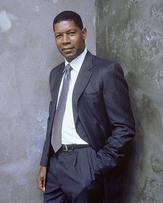 Dennis Haysbert as President David Palmer Fox's 24