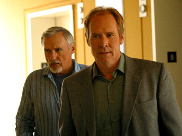 "Dennis Hopper and Will Patton USA Network's ""The Last Ride"""