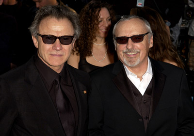 Harvey Keitel and Dennis Hopper Vanity Fair Party Hollywood, CA 3/24/2002