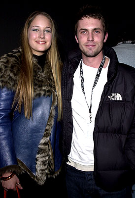 Leelee Sobieski and Desmond Harrington Sundance Film Festival Opening Night Party 1/18/2001