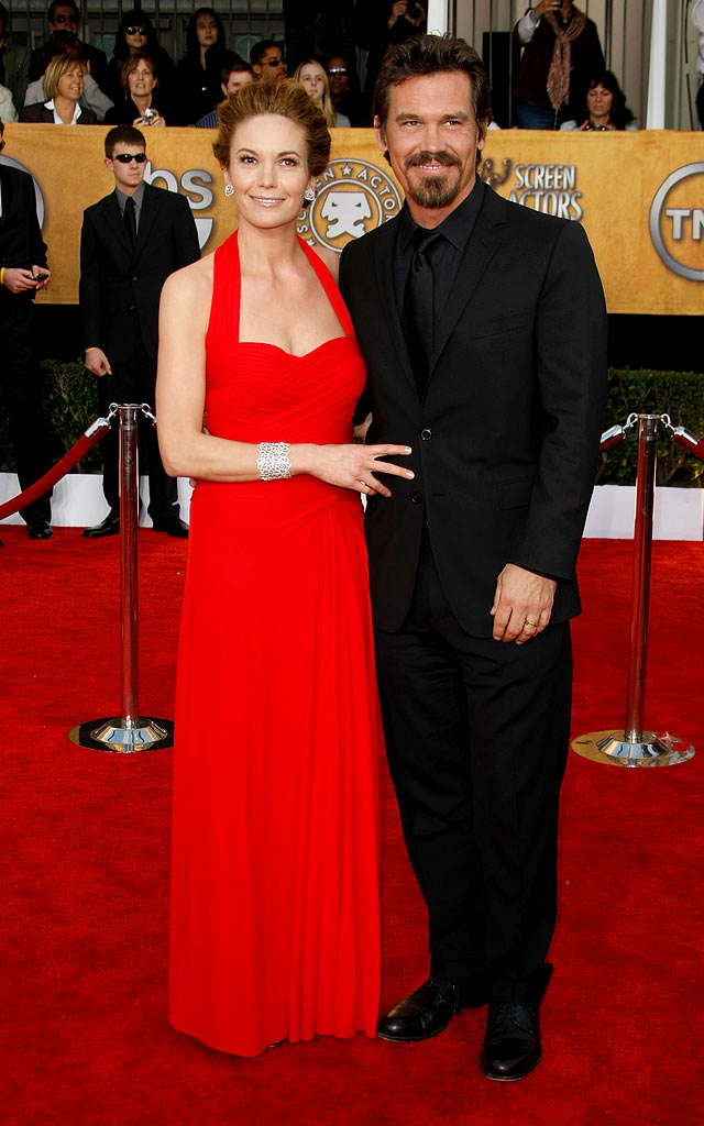 Diane Lane and Josh Brolin arrives at the 15th Annual Screen Actors Guild Awards held at the Shrine Auditorium on January 25, 2009 in Los Angeles, California.