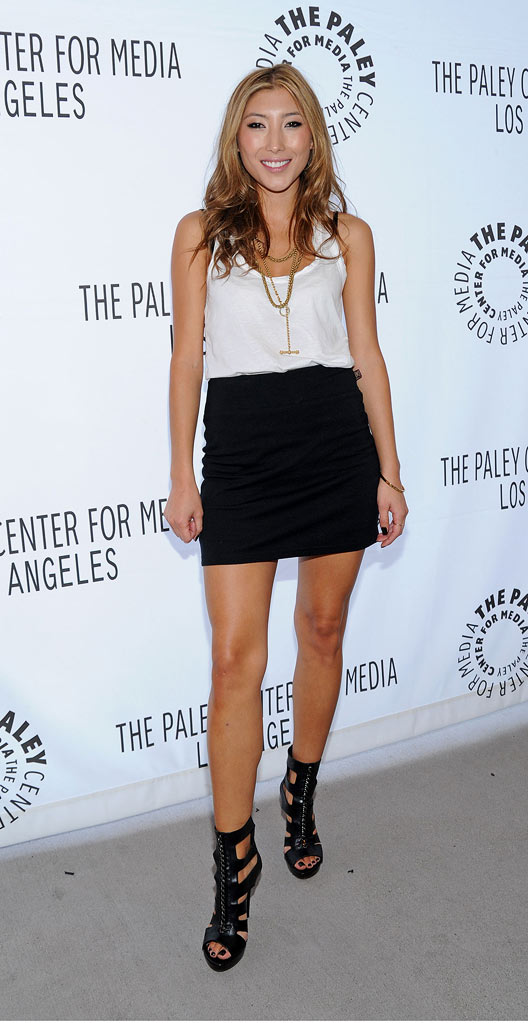 Dichen Lachman attends the 'Dollhouse' event at the ArcLight Cinemas on April 15, 2009 in Hollywood, California.