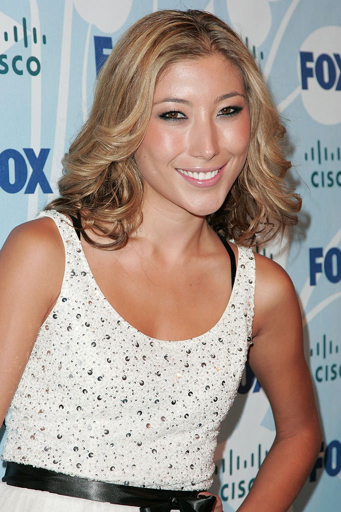 Dichen Lachman attends the Fox fall eco-casino party at The London on September 8, 2008 in West Hollywood, California.