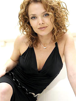 Dina Meyer as Amber Hargrove FOX's Point Pleasant