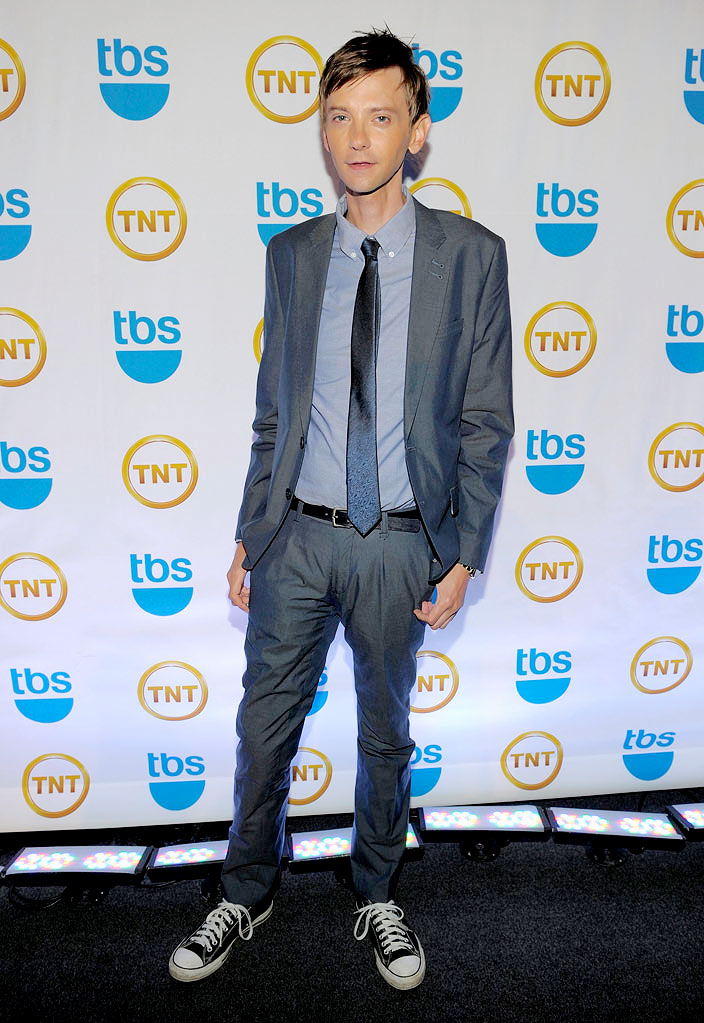 DJ Qualls attends the TEN Upfront presentation at Hammerstein Ballroom on May 19, 2010 in New York City.