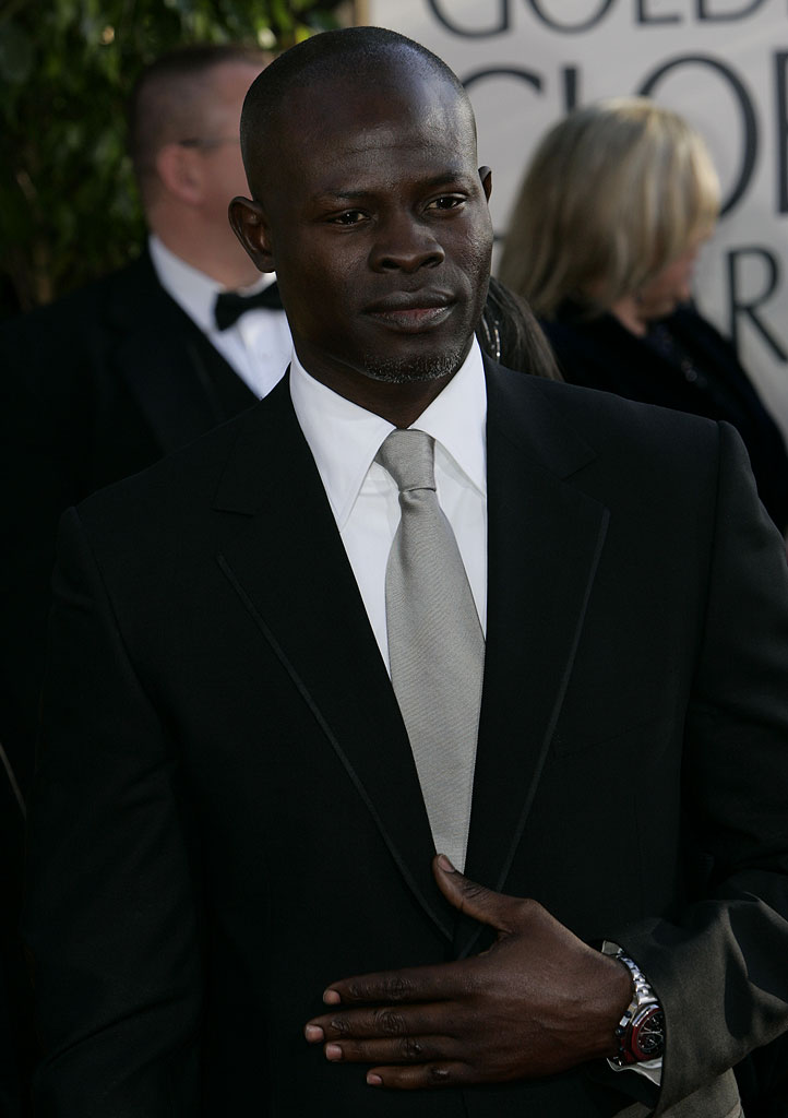 Djimon Hounsou at the 64th annual Golden Globe Awards.