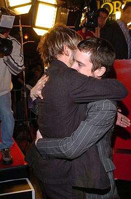Premiere: Dominic Monaghan and Elijah Wood at the LA premiere of New Line's The Lord of the Rings: The Return of The King - 12/3/2003