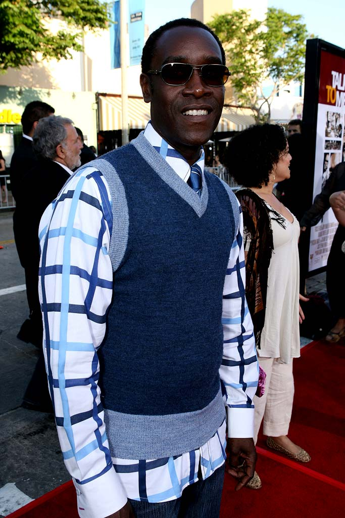"Don Cheadle at the 2007 Los Angeles Film Festival - ""Talk To Me"" Screening."