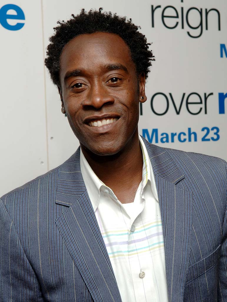 "Don Cheadle at the ""Reign Over Me"" New York City Premiere."