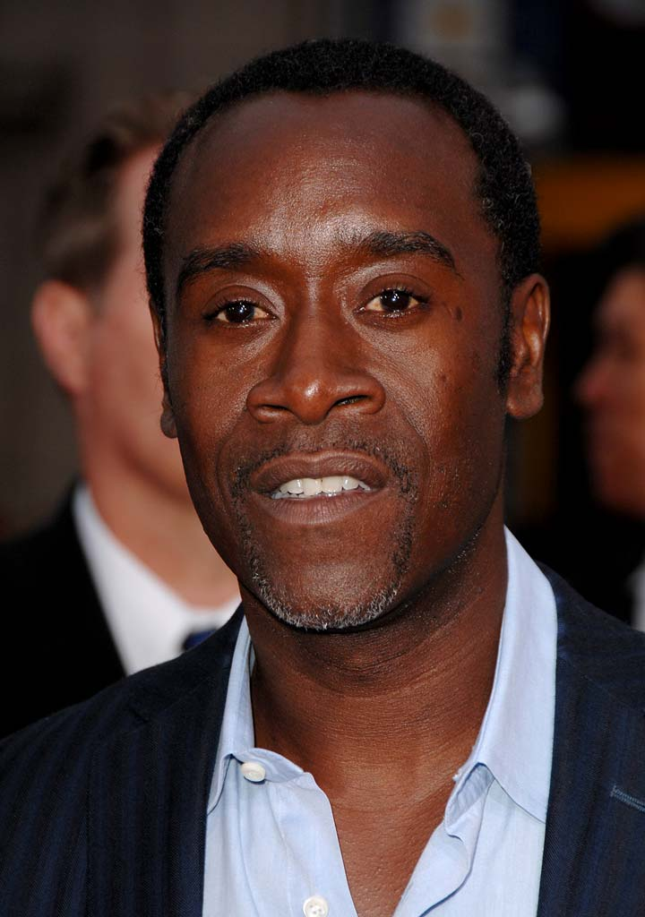 "Don Cheadle at the ""Ocean's Thirteen"" Los Angeles Premiere."