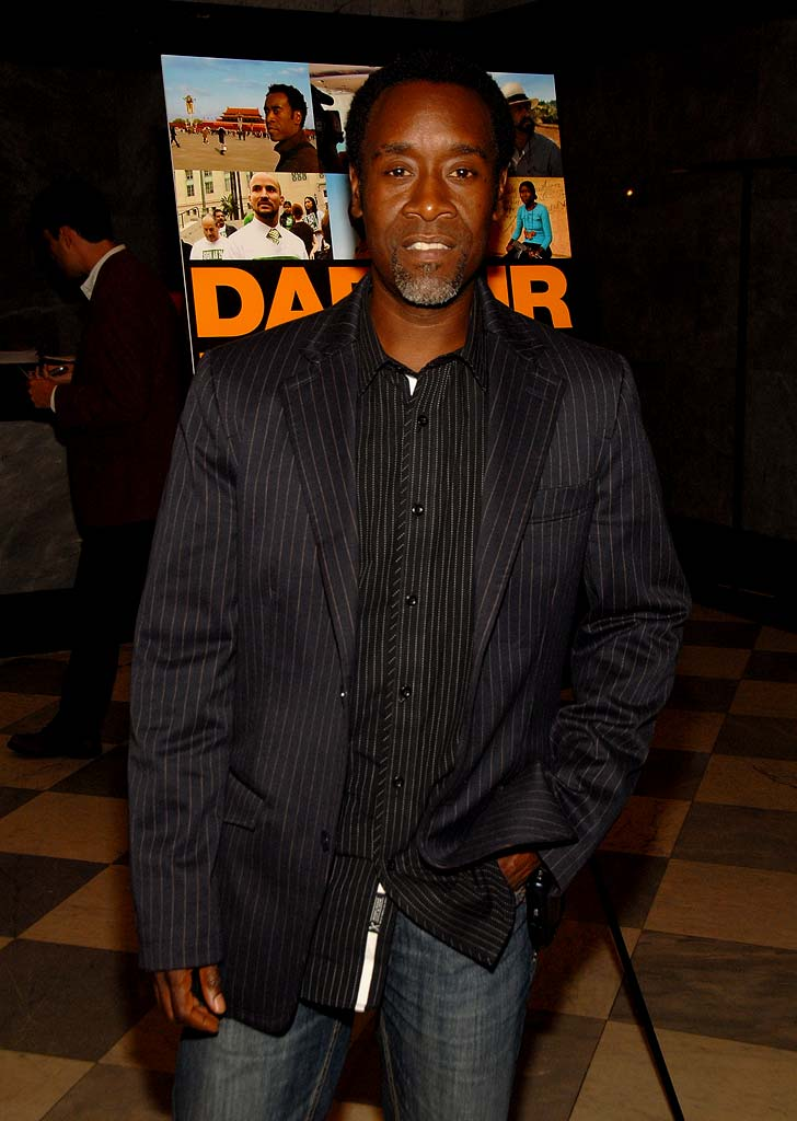 "Don Cheadle at the ""Darfur Now"" Screening."
